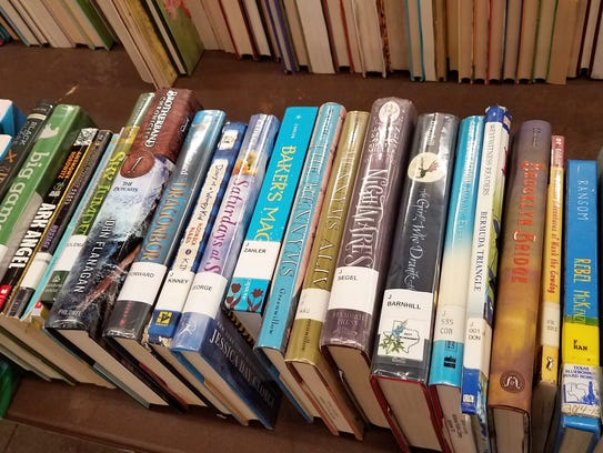 A tiny selection of some of the books available for younger readers at the yearly Friends of the Abilene Public Book Sale.