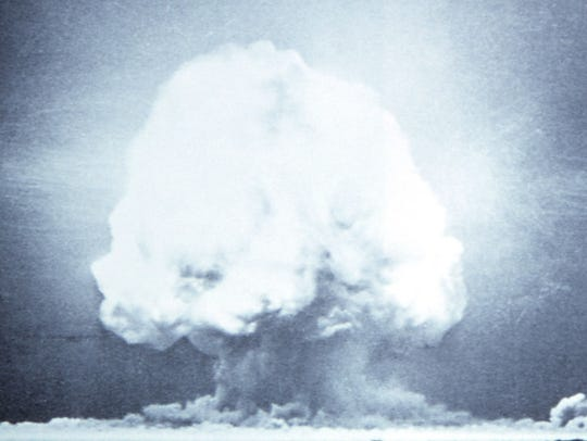 The world's first atomic bomb was detonated on July