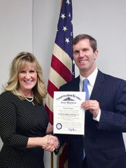 Michelle Kuiper with the Kentucky Attorney General