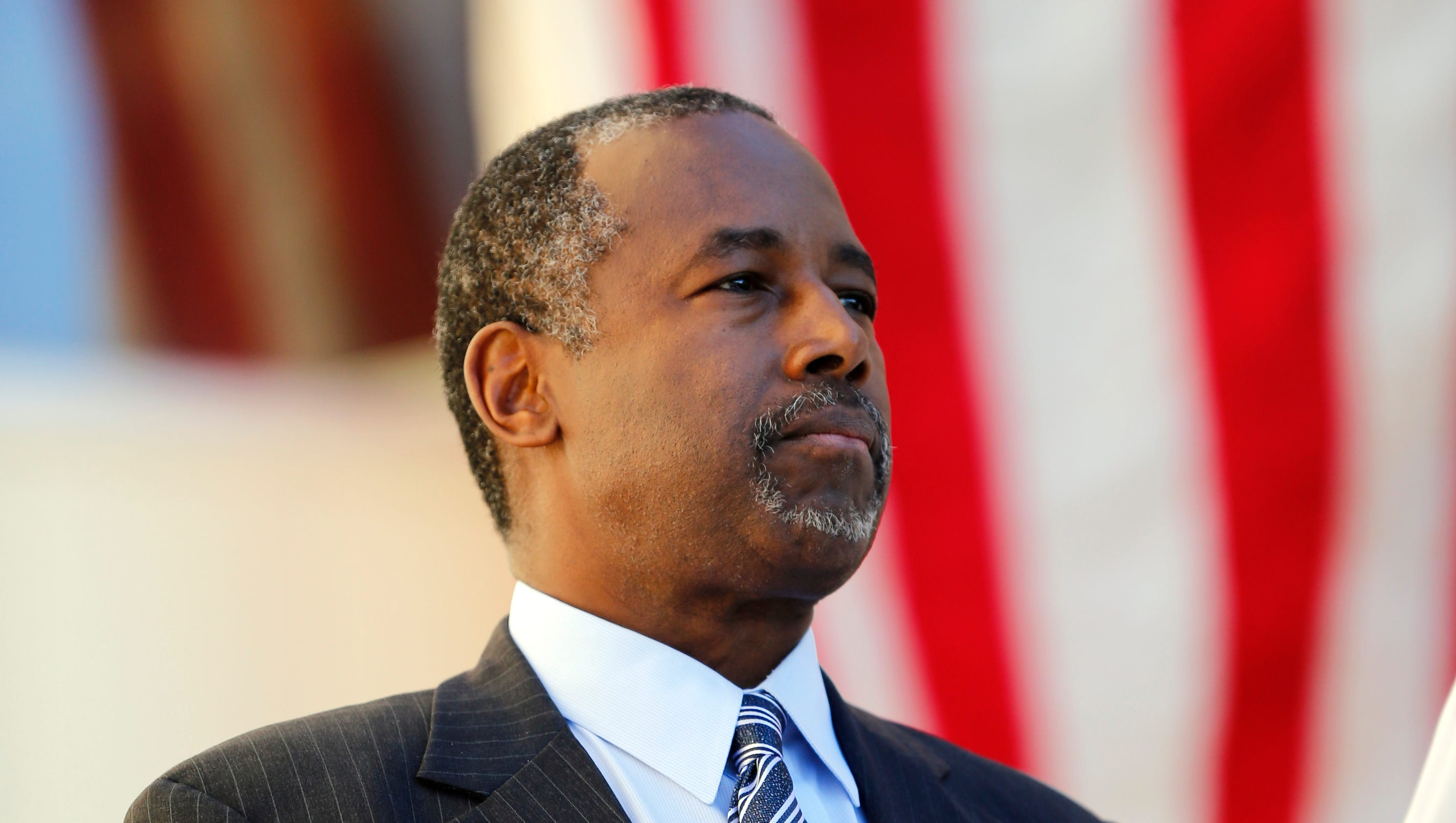 Gaffes admiration for carson earns him leeway for The carson