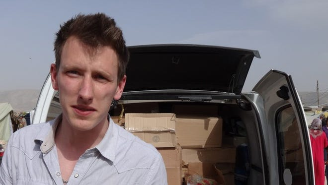 U.S. aid worker Peter Kassig, 26, was abducted last year in Syria. A video released Sunday shows him being beheaded by ISIS militants.