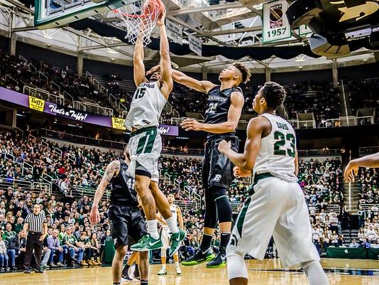 MSU vs Binghamton Men's Basketball