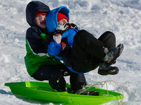 PHOTOS: Snow day fun