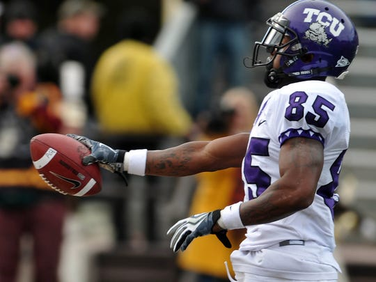 Receiver Jeremy Kerley and the TCU Horned Frogs finished