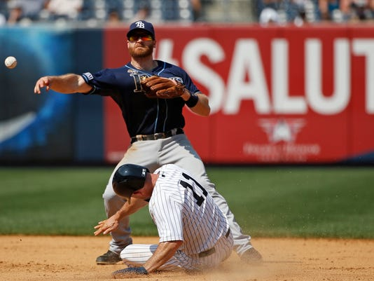 Rays Yankeesx Baseball
