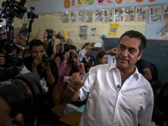 AP APTOPIX MEXICO ELECTIONS I MEX