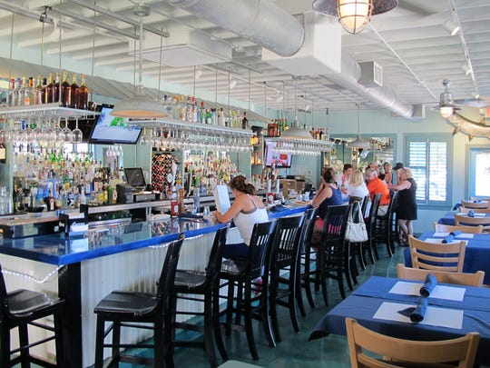 The lounge area at Deep Lagoon Seafood & Fish Market, which recently replaced Randy's Fishmarket Restaurant at 10395 U.S. 41 N. in North Naples.