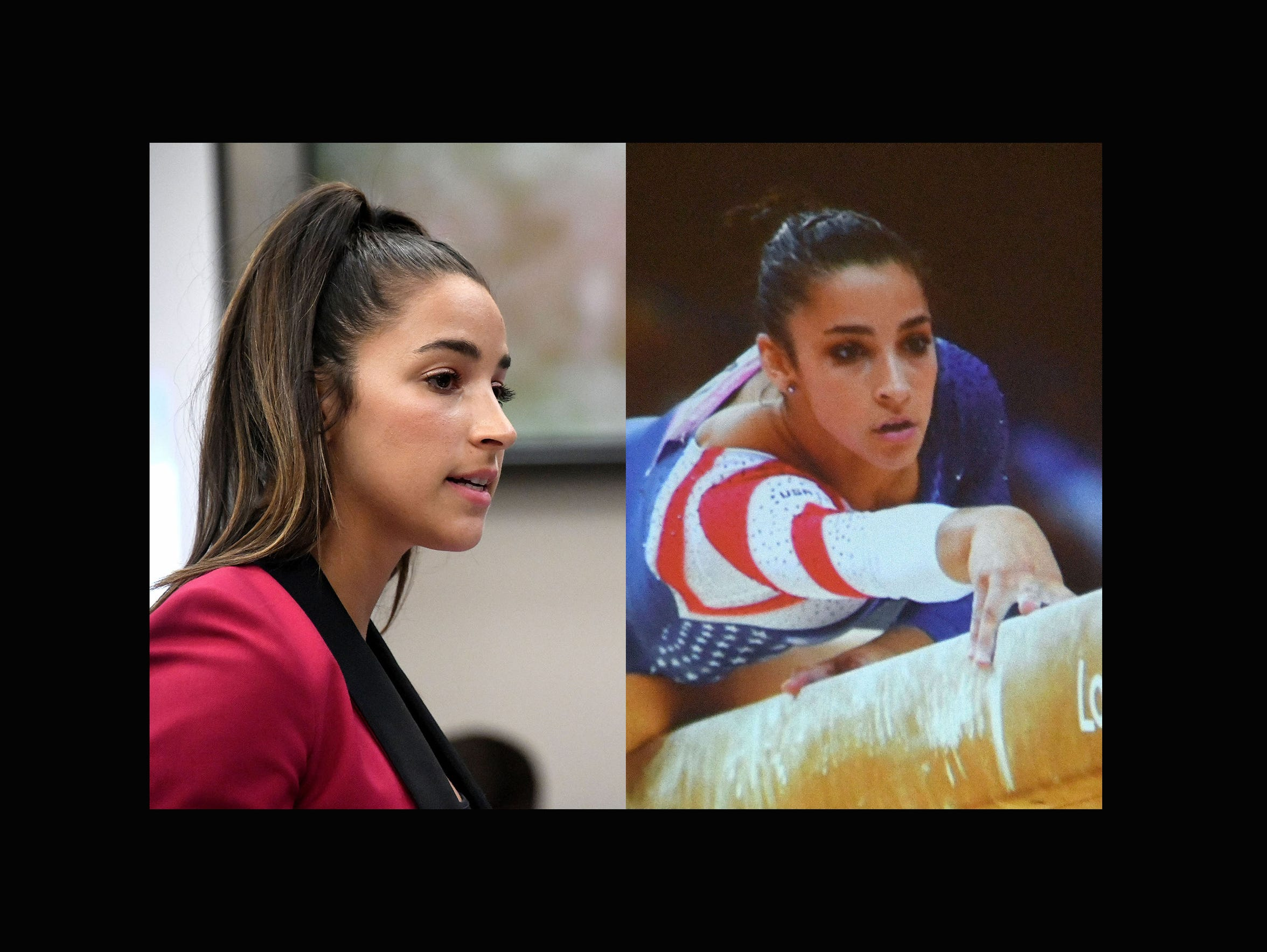 """Aly Raisman: """"As for your letter yesterday, you think"""
