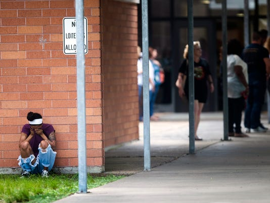 AP APTOPIX SCHOOL SHOOTING TEXAS A USA TX