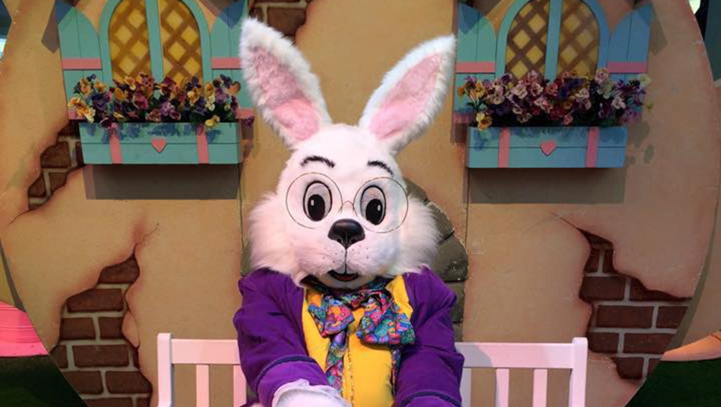 easter bunny arrives later this month at eastdale mall