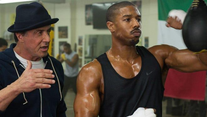 Yup, Rocky's back.