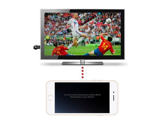 "The Slingbox line of products ""slings"" your local television programming to your smartphone, tablet or laptops anywhere on the planet, and with no monthly fees."