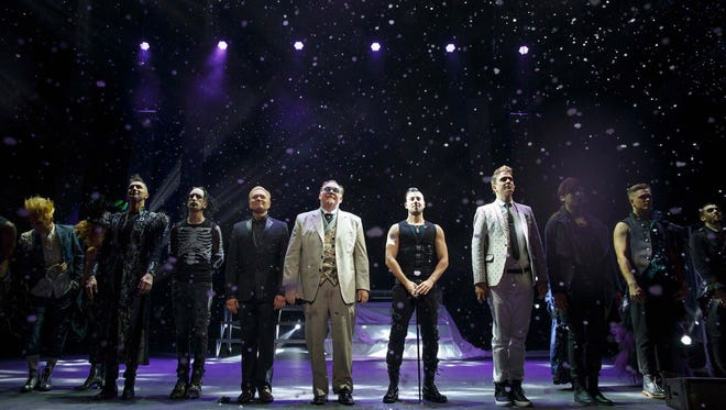 Now you see them: These legends of legerdemain are collectively known as 'The Illusionists.'
