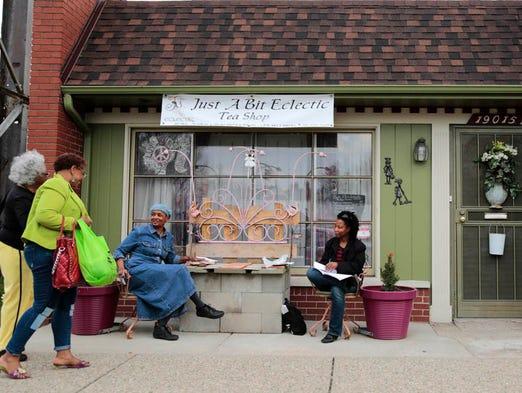 Knitting Room Birmingham : Tea shop owner pours heart into detroit s revival