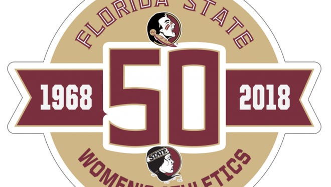 Florida State will celebrate 50 years of intercollegiate women's athletics in the 2018-19 academic year with special logos, patches and signs at FSU venues.