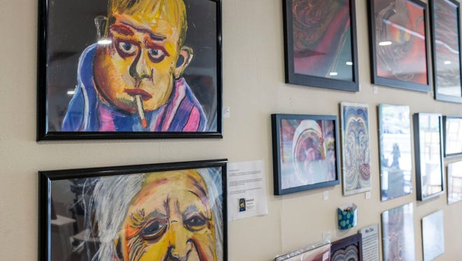 The Highway 111 Art Show features 30 artists who are also clients of the Desert AIDS Project. Proceeds from the show go directly to the artists.
