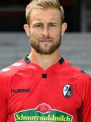 SC Freiburg's US midfielder Caleb Stanko