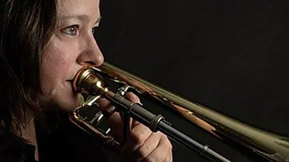 Principal trombonist Brenda Sansig Salas was dismissed from Austin Opera and the Austin Symphony.