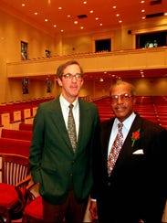 James O. Chatham and the Rev. C. Mackey Daniels