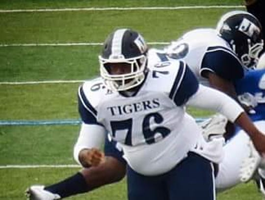 Jackson State long-snapper Ronza Anderson has been