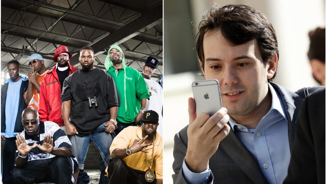 Martin Shkreli is making good on his election bet and sharing his Wu-Tang Clan album.