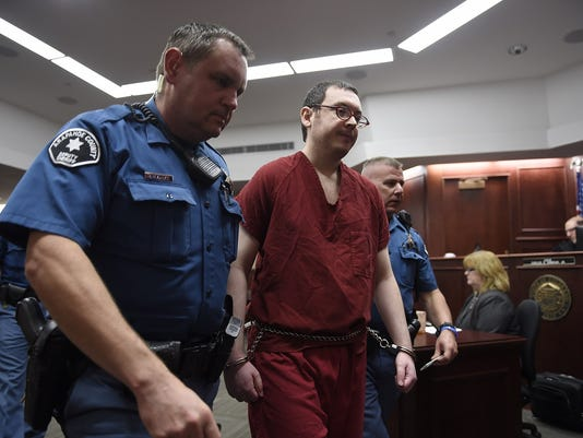 James Holmes Formal Sentencing for the Aurora Theater Shooting