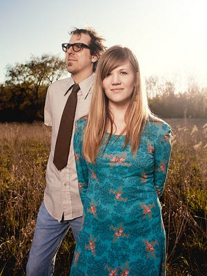 Brandon and Bethany Foote, also known as Gifts or Creatures, will perform at the Hob Nob at the Broad Art Museum Friday.