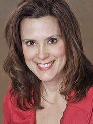 Former state Sen. Gretchen Whitmer, D-East Lansing