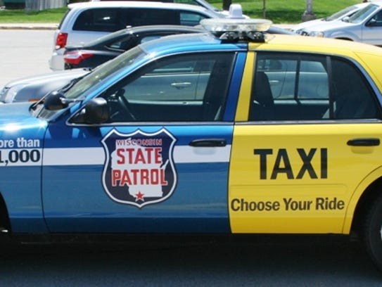 """The """"choose your ride"""" car  from television commercials"""