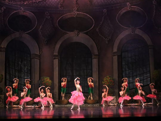"In this scene from Ballet West II's production of ""Beauty"