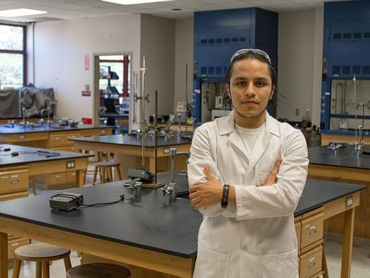 Melvis Madrigal is preparing to graduate from Warren Wilson College this year. The biochemistry major will be the first member of his family to receive a university degree.
