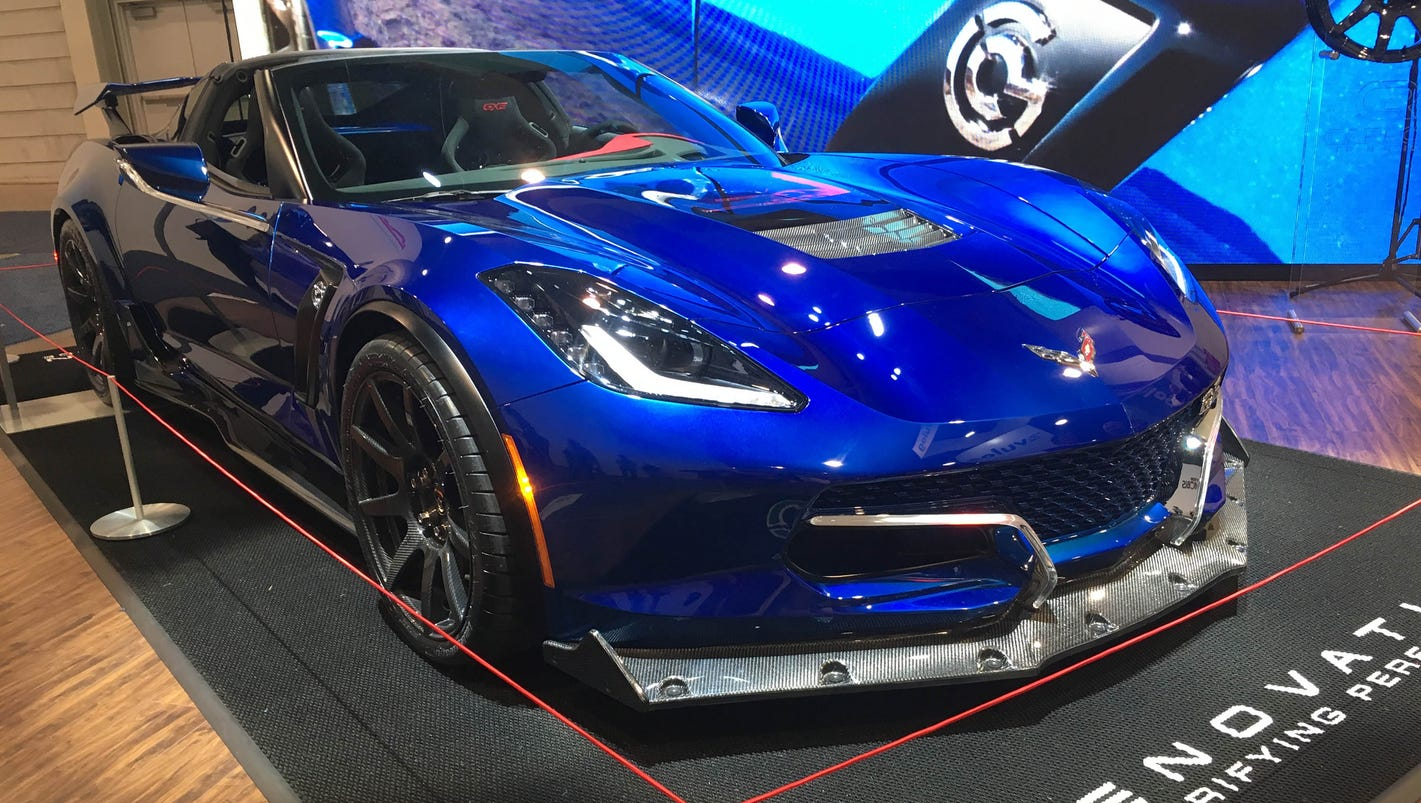 This 750k converted all electric corvette could hit 220 m for H and r auto motors