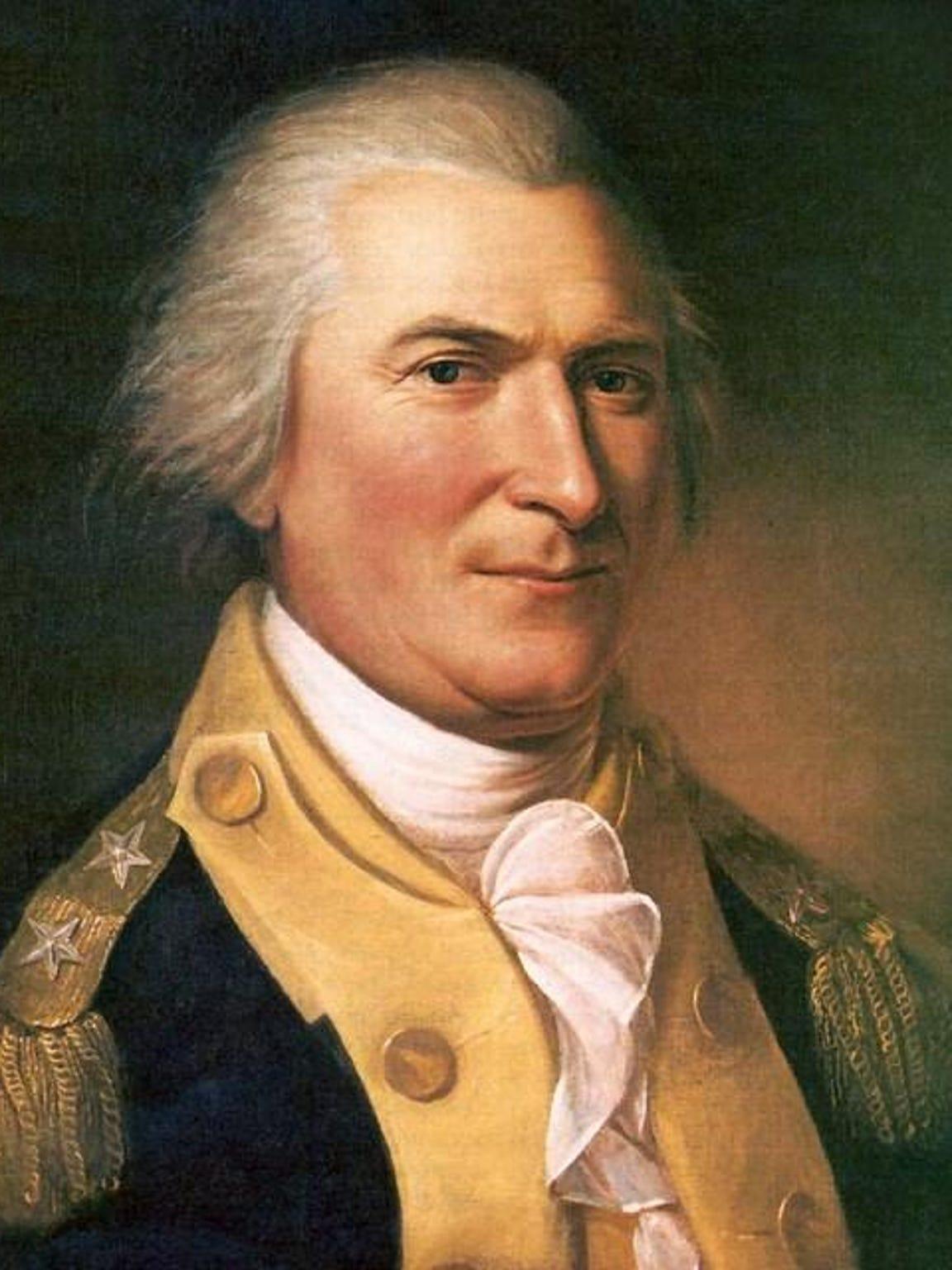 American Maj. Gen. Arthur St. Clair (1737-1818).