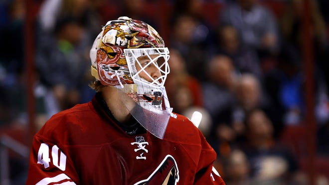 The Coyotes have acquired a third round draft choice in the 2015 NHL Entry Draft from the Minnesota Wild in exchange for goaltender Devan Dubnyk.