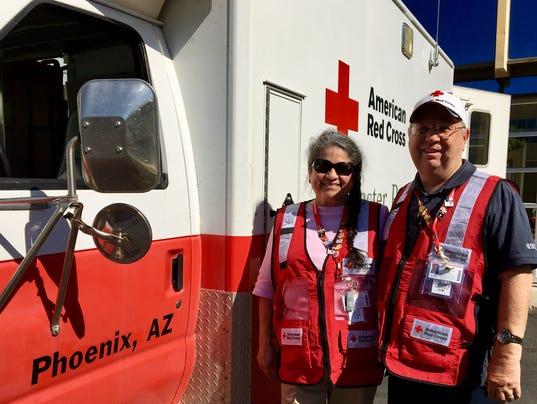 Red Cross Harvey Deployment AZ