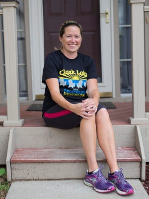 After knee surgery and physical therapy, Shannon Fischer of Ann Arbor began running slowly on a treadmill and has been able to run short distances outside.