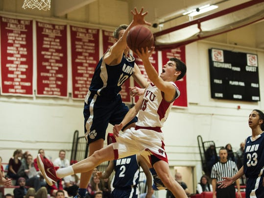 MMU vs. CVU Boys Basketball 01/21/16