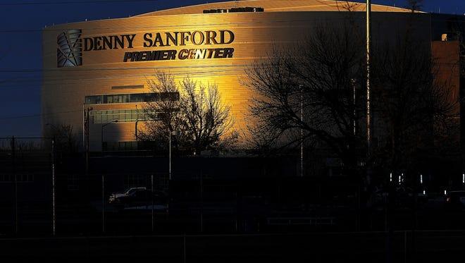 The Denny Sanford Premier Center Tuesday, Dec. 8, 2015, in Sioux Falls.