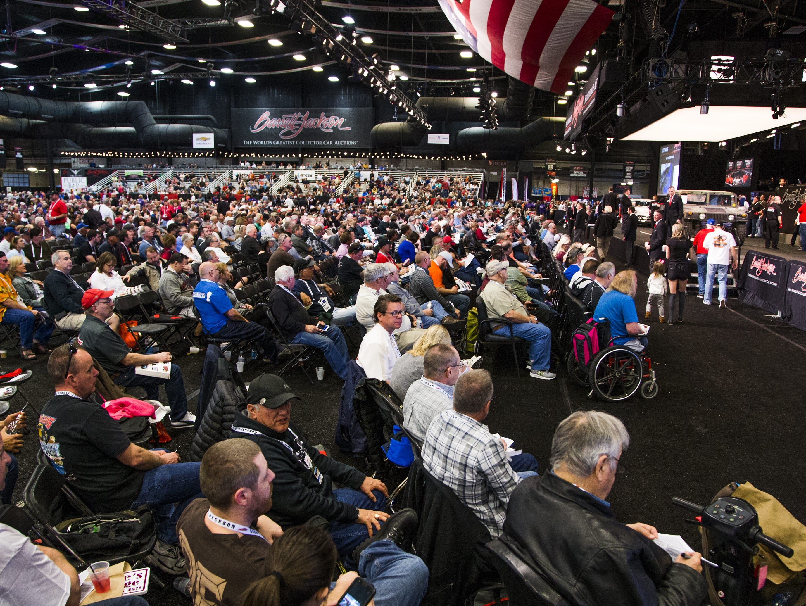 Millennials become a growing force at Barrett-Jackson car auction.