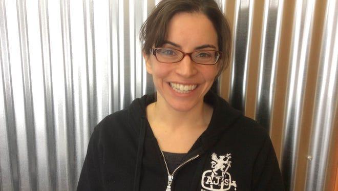 Julie Carvotta Bieleck, co-owner of Henrietta's AJ's Beer Warehouse and Rhino Distributing.