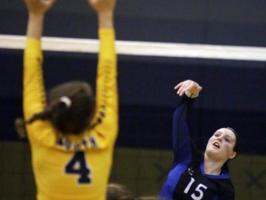 she s OshWest at ShebNorth Volleyball 1020-gck-13