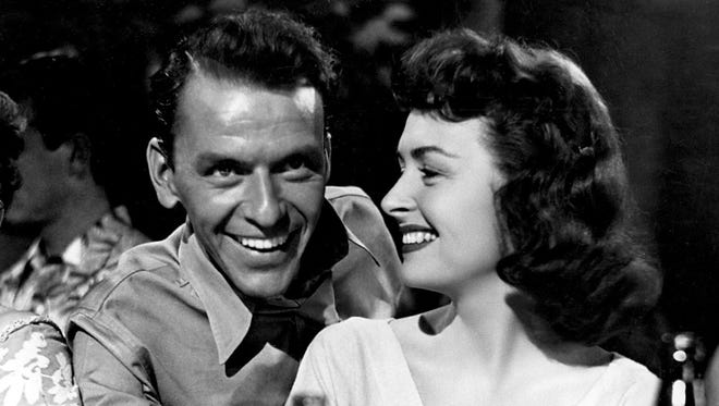 Frank Sinatra and Donna Reed star in 'From Here to Eternity.'