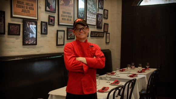 Kris Allen, executive chef of Pamplona Tapas Bar, is