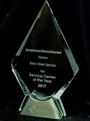 American Metal Market has named Klein Steel Service