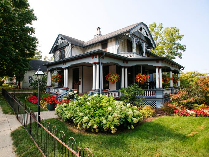 The home of Bill and Nancy DeFrance in downtown Eaton
