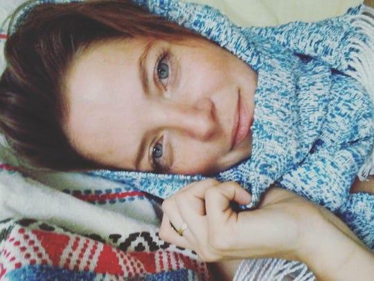 Corrina Van Hamlin, 36, a local radio producer and
