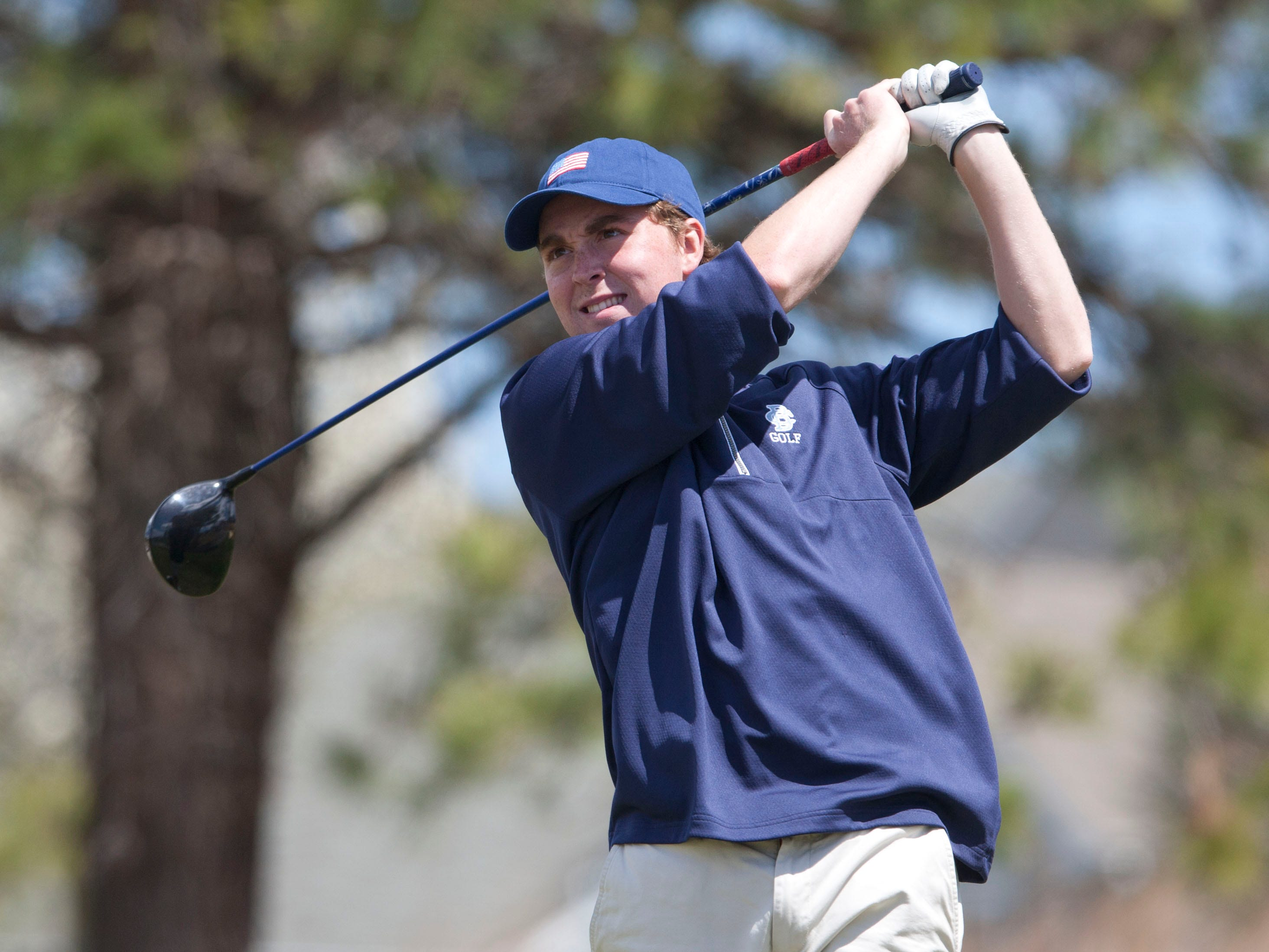 CBA's Sean Farren fired a 75 at the Shore Conference Tournament at Eagle Ridge in Lakewood on Tuesday, leading the Colts to the team title while finishing tied for fourth overall.