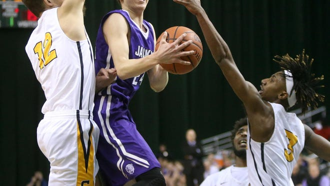 Former Jackson player Ethan Stanislawski averaged 14.2 points a game as a sophomore at Ohio Wesleyan. He is transferred to Mount Union after last season.