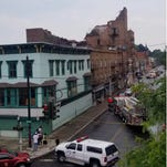 Poughkeepsie building collapses on Academy Street
