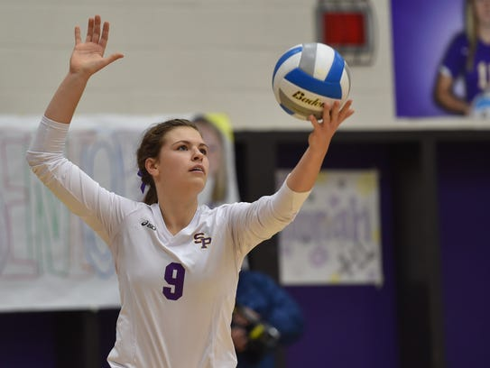 The University of Wisconsin-Stevens Point volleyball